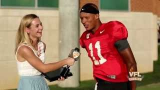 getlinkyoutube.com-#AskAVol: @Josh_Dobbs1 Prefers His Steak Medium Rare