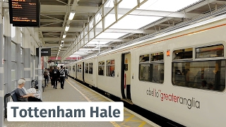 getlinkyoutube.com-London: Greater Anglia trains at Tottenham Hale feat. Anne
