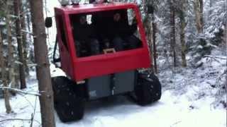 getlinkyoutube.com-Hemmasmidd bandtraktor....Homemade tracked vehicle