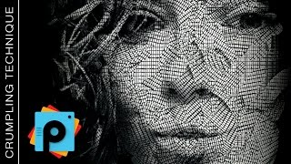 """getlinkyoutube.com-PicsArt Editing Tutorial """"Crumpling Technique"""" by paolomore #picsart"""