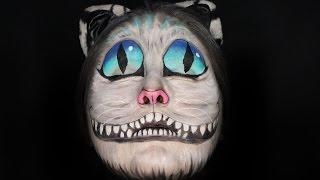 getlinkyoutube.com-Cheshire Cat Face Paint Tutorial