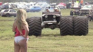 getlinkyoutube.com-Mud Trucks Gone Wild Okeechobee Mud