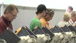 Miles de personas salieron a votar este martes en Kansas City, MO.
