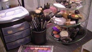 getlinkyoutube.com-Idées de rangement maquillage