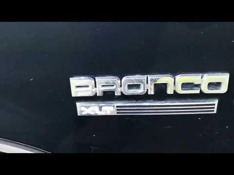 Ford Bronco fuel pump relay fix