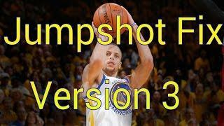 getlinkyoutube.com-NBA 2K15 Jumpshot Fix Stephen Curry Version 3