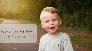 getlinkyoutube.com-Photoshop Tutorial | How To Quickly Add a  Sun Flare