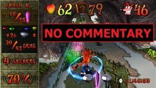 getlinkyoutube.com-Crash Bandicoot 2 - 100% speedrun in 1:20:51 (single-segment) by MrBean35000vr