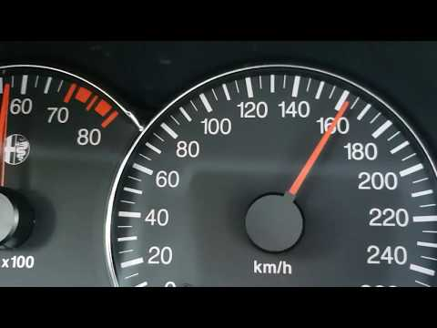100 - 200 km Alfa 166 3.2 TI