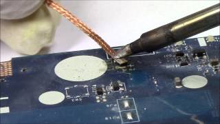 Laptop RTC Battery Replacement | Soldering
