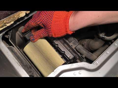 Замена воздушного фильтра двигателя Smart 450