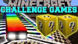 getlinkyoutube.com-Minecraft: RAINBOW CENTIPEDE CHALLENGE GAMES - Lucky Block Mod - Modded Mini-Game