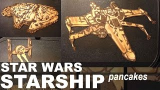 getlinkyoutube.com-Star Wars Starship Pancake Art