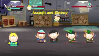 South Park: The Stick of Truth Giggling Donkey Gameplay