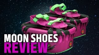 getlinkyoutube.com-Trampolines for your Feet! Moon Shoes Review