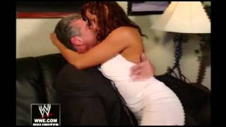 getlinkyoutube.com-Vince McMahon and Candice Michelle go personal (REAL)