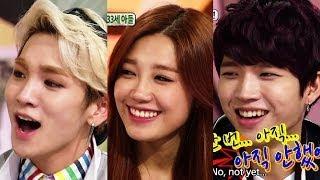 getlinkyoutube.com-Hello Counselor - Toheart (Key & Woohyun) and APink (Eunji & Namjoo)! (2014.04.14)