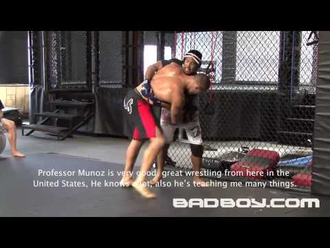 "Junior ""Cigano"" dos Santos Training for UFC 103"