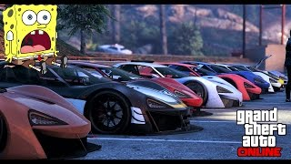 getlinkyoutube.com-GTA 5 NEW CAR Meet - ITALI GTB / mclaren