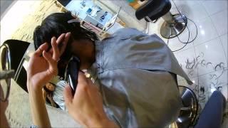 getlinkyoutube.com-【warphair森泉】黒髪刈り上げ女子のパーマスタイル