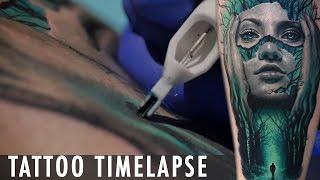 getlinkyoutube.com-Tattoo Timelapse - Jamie Lee Parker