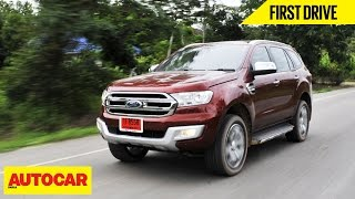 getlinkyoutube.com-2015 Ford Endeavour | First Drive | Autocar India