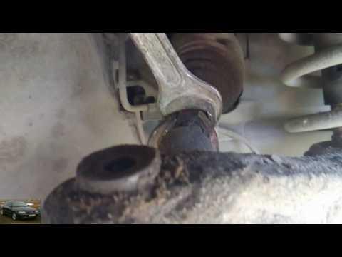 AUDI A4 B5 замена рулевого наконечника, замена наконечника VAG группы, AUDI,VW,Shokoda