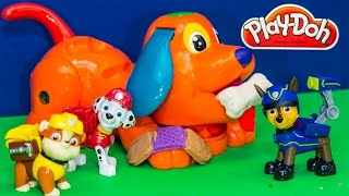 getlinkyoutube.com-PAW PATROL Nickelodeon  Play Doh Puppy Vet a Play Doh Paw Patrol Video Parody