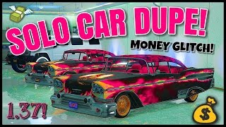 getlinkyoutube.com-GTA Online - SOLO STREET CAR DUPE GLITCH! 1.37 (SOLO UNLIMITED MONEY GLITCH!) AFTER PATCH 1.37