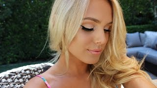 getlinkyoutube.com-Summertime Radiant Glow Makeup Tutorial