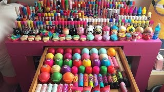 getlinkyoutube.com-*Updated* *Organized* Lip Balm Collection #2!