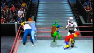 Cartoon Royal Rumble part 1 - SvR11 - TheBladePM   11th March 2011
