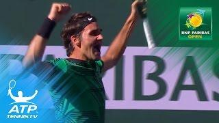 Roger Federer beats Stan Wawrinka to win 2017 BNP Paribas Open | Indian Wells 2017 Highlights
