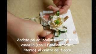 getlinkyoutube.com-Bomboniere... Bustina in carta di riso
