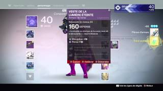getlinkyoutube.com-DESTINY - NIVEAU 40 - AVOIR UN MAX DE LOOTS LEGENDAIRES - ESTIME DES FACTIONS