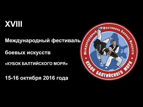 XVIII Фестиваль боевых искусств Кубок Балтийского моря 2016 года