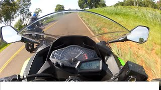 getlinkyoutube.com-TOP SPEED NINJA300 X CBR500 DUELO NA ESTRADA