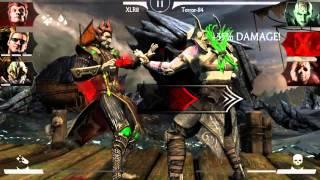 MKX Mobile: v1.7 Update Shinnok/Cybernetic Jacqui/ Kraken Reptile