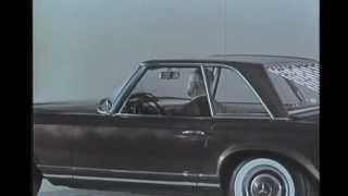getlinkyoutube.com-Mercedes Benz 230 SL intro 1963