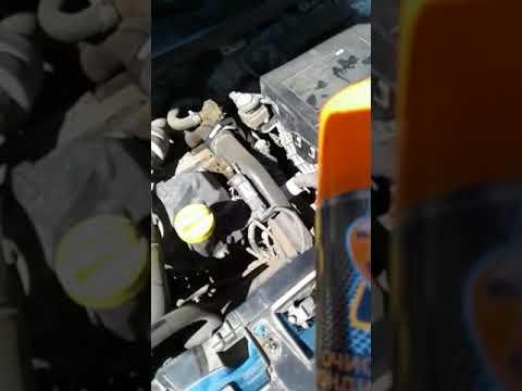 Чистка испарителя кондиционера на Рено Меган 3