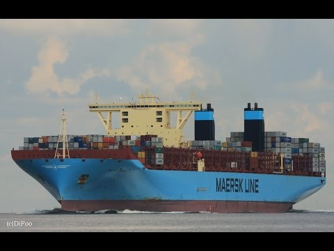 Click to view video METTE MAERSK - IMO 9632155 - Germany - Elbe - Otterndorf