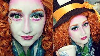 getlinkyoutube.com-WONDERLAND | MAD HATTER Makeup Tutorial