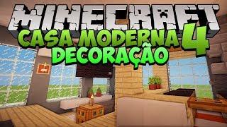 Minecraft: Decoração da Casa Moderna 4