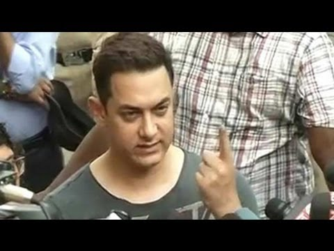 Please vote and make elections successful: Aamir Khan