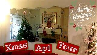 getlinkyoutube.com-Christmas Decor Apartment Tour!