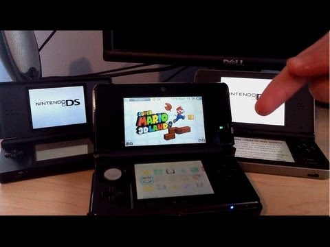 3DS vs. DSi vs. DS Lite - Which Is Better?