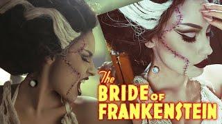 Bride Of Frankenstein Rick Baker Inspired Halloween Tutorial width=