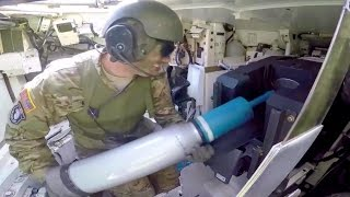 getlinkyoutube.com-M1A2 Main Battle Tank Firing Main Gun - Interior View