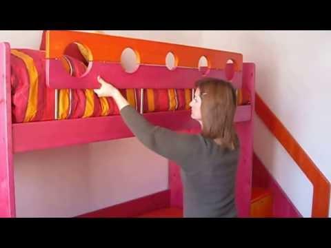 Come costruire una scala per il letto a castello fai da for Costruire una camera da letto