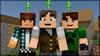 getlinkyoutube.com-Minecraft The Sims #30: Zueira com AuthenticGames e BaixaMemoria!